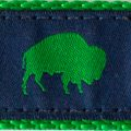 Blue and Green Buffalo print, Elmwood Pet Supplies