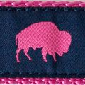 Blue and Pink Buffalo print, Elmwood Pet Supplies
