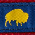 Blue and Yellow Buffalo print, Elmwood Pet Supplies